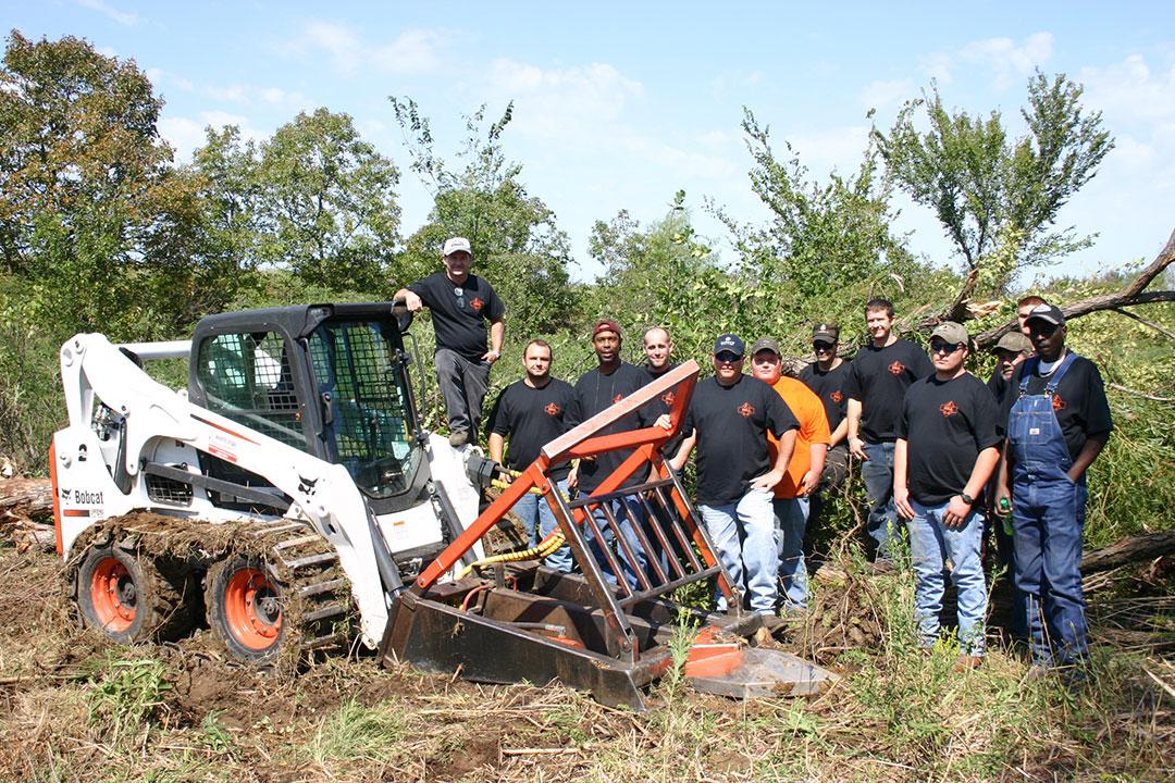 Marshall Tree Saw Team